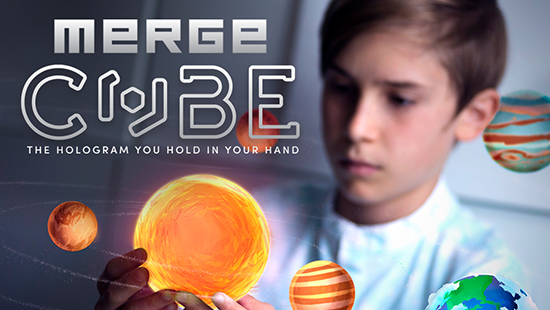 merge cube hologrames petits enginyers